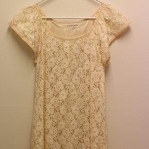 Women comfortable soft color dress